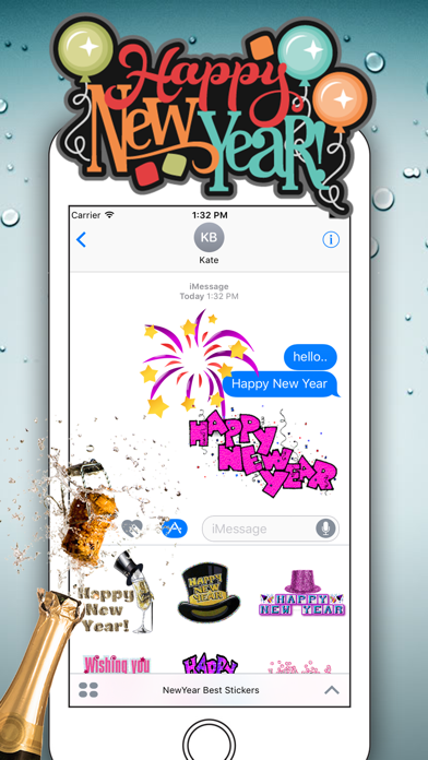Happy New Year for iMessage
