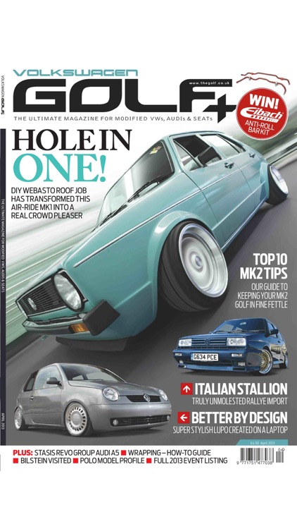 Volkswagen Golf + Magazine screenshot-3