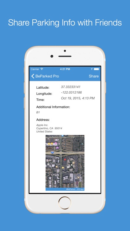 BeParked Pro - Car Parking Spot Tracker screenshot-3