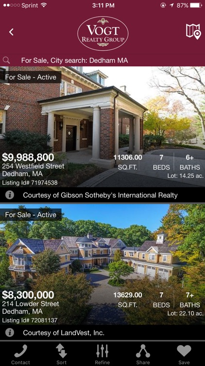 Vogt Realty Group Home Search
