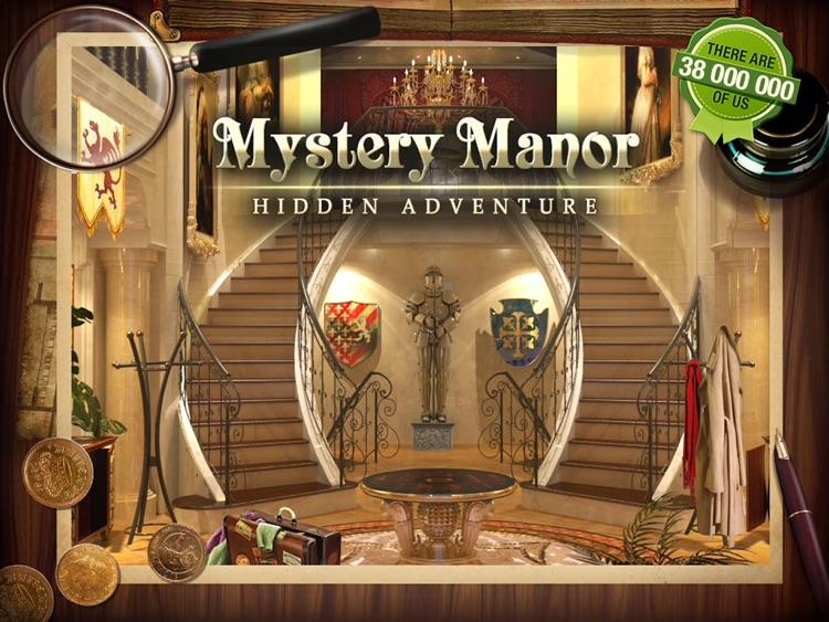 Mystery Manor: Hidden Adventure HD screenshot-0