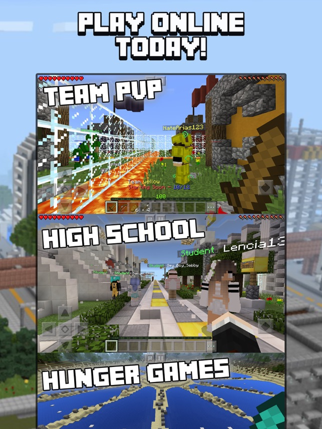 Servers For Minecraft PE Minecraft Servers On The App Store - Minecraft spiele ohne plugin