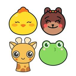 Moji Animals - 150+ stickers Mega Bundle