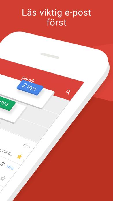 Screenshot for Gmail - e-post från Google in Sweden App Store