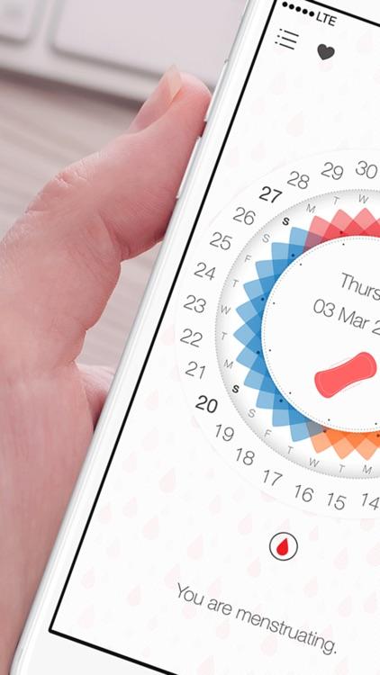 Freya pregnancy period tracker, menstrual calendar