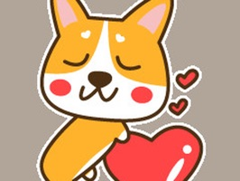 Cute Cartoon-Dog Stickers For iMessage