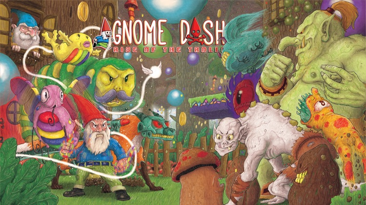 Gnome Dash: Rise of the Trolls screenshot-0