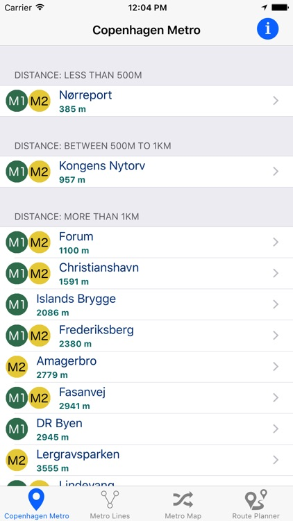Copenhagen Metro & Subway screenshot-0
