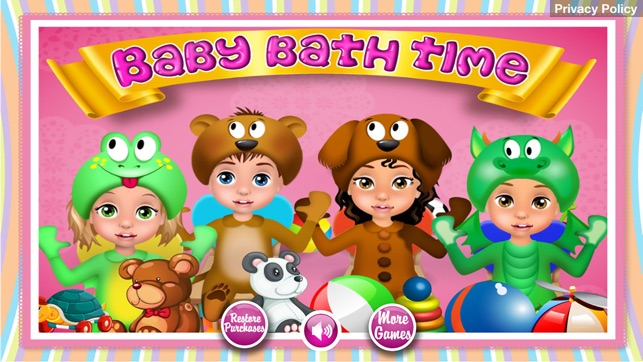 Baby Bath Time - Kids Games (Boys & Girls) on the App Store