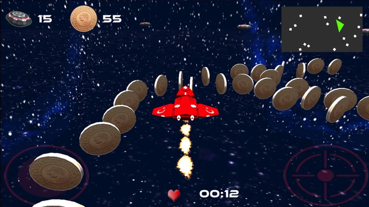 3D Space Adventure Fighter