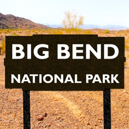 Big Bend National Park Map, Texas