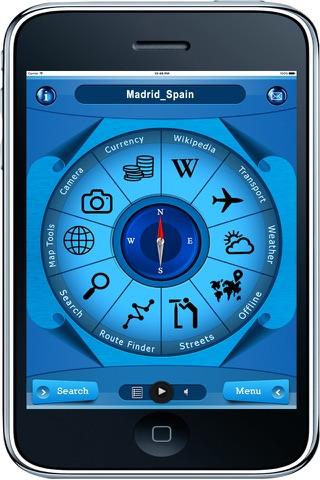 Madrid Spain - Offline Maps navigator - náhled