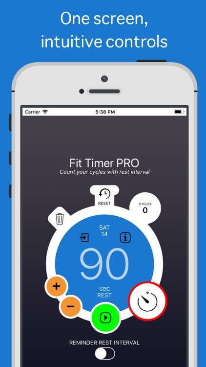 Fit Timer PRO screenshot-0