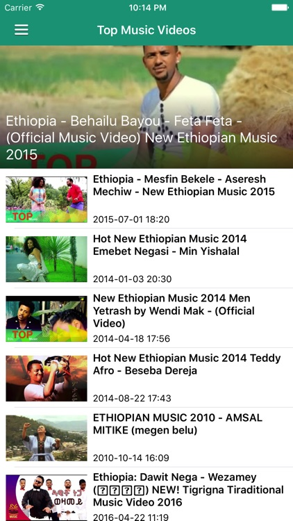 Ethiopia News & Ethiopian Music (Pro Edition) screenshot-3