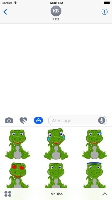 Mr Dino - Funny Stickersのスクリーンショット2