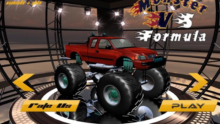 Monster Truck vs Formula Cars Pro screenshot-4