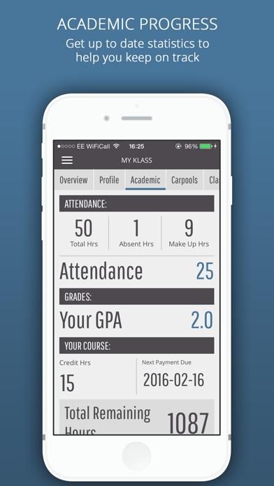 Helms college screenshot three