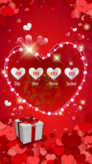 Valentine's Day Countdown screenshot one