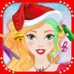 Celebrity Girls Christmas Hair Makeover Salon 2016