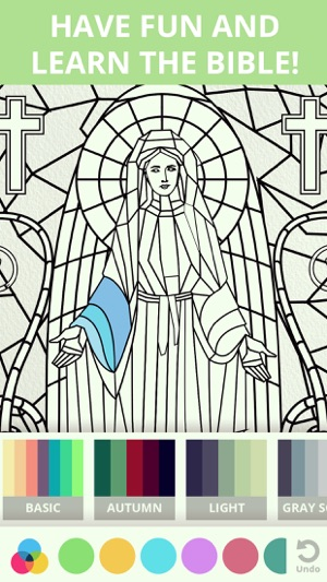 Bible & Jesus Coloring Book on the App Store