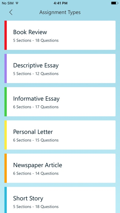 Write Ideas Screenshot