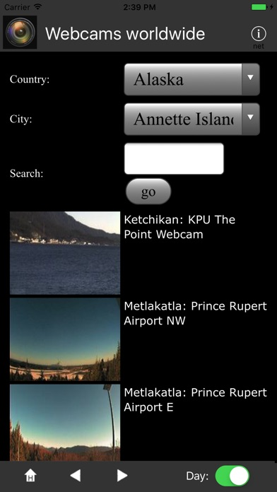 Webcams Worldwide review screenshots