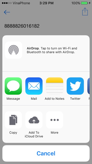 Barcode scanner - QR Bar Code reader & generator Screenshot on iOS
