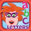 Juf Jannie - Letters leren lezen - Juf Jannie, leer me letters kunstwerk