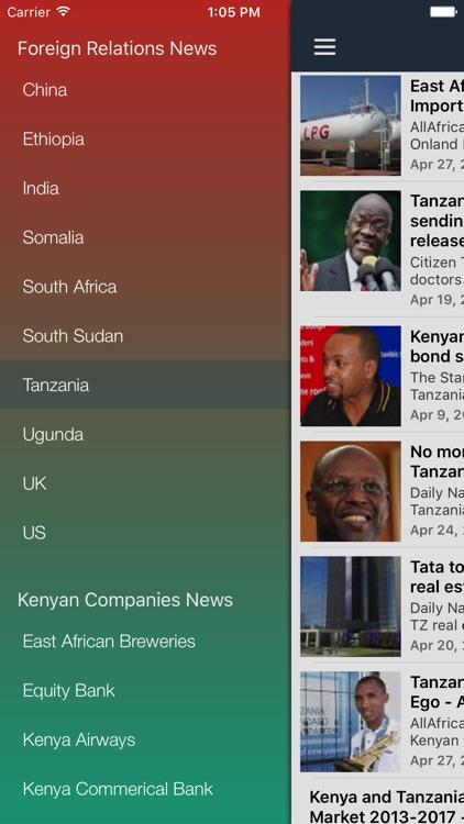 Kenya News Today- Latest Nairobi & Mombasa Updates