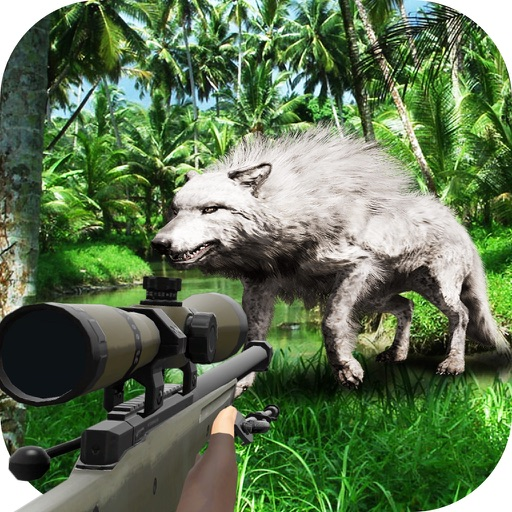 Wild Jungle Sniper Hunting - Animal Rescue Mission