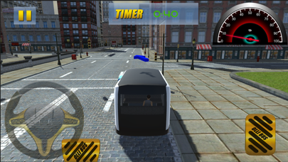Down Town City Bus Driver: Transport Simulation 3D screenshot three
