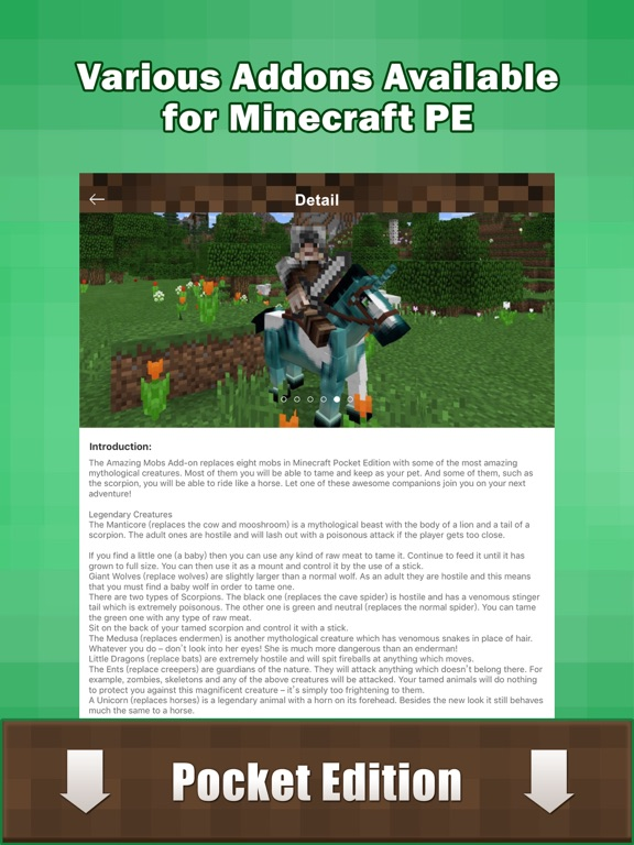 Add Ons - free mcpe maps & addons for Minecraft PE | App