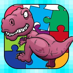 Dino Puzzle : Kids Dinosaurs Jigsaw Learning Games