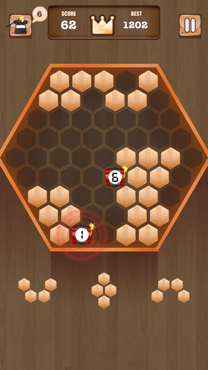 Wooden Blitz Block - A New Puzzle Adventure screenshot-3