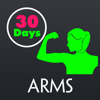 30 Day Toned Arms Fitness Challenges Pro