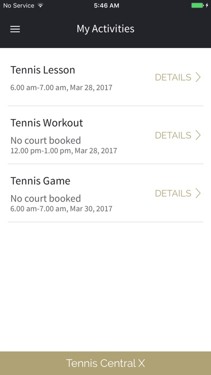 Tennis Central X