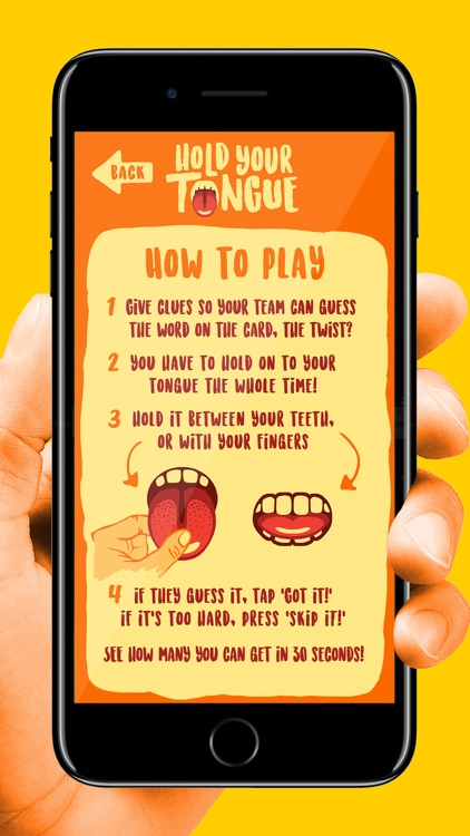 Hold Your Tongue: Funny Party Game for Family Fun screenshot-4