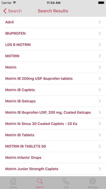 InfantRisk Center Health Care Mobile Resource screenshot-3