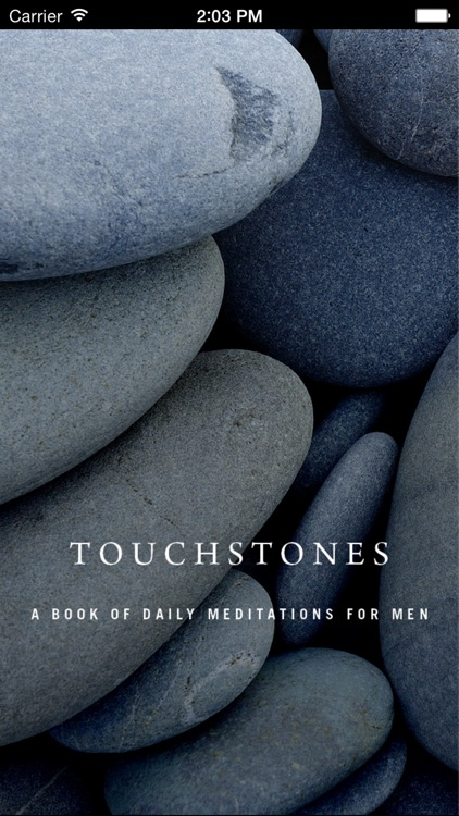 Touchstones: Daily Meditations for Men in Recovery