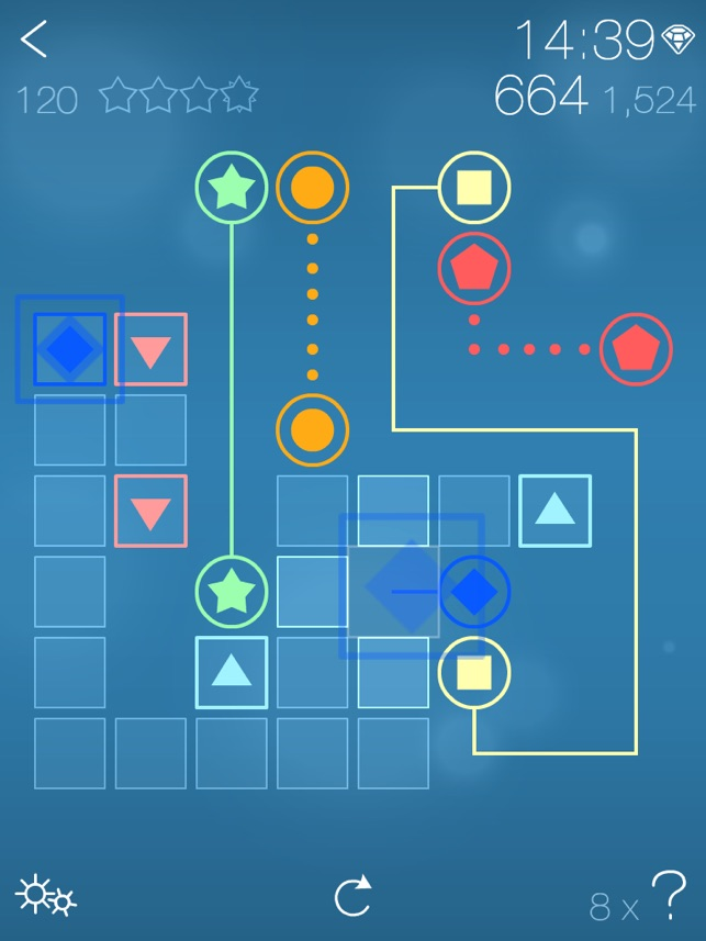 Symbol Link - Game Challenges from Tetris Inventor Screenshot
