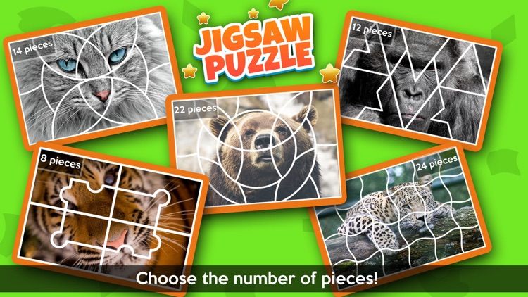 Animal Jigsaw Puzzle - Free Puzzle Games