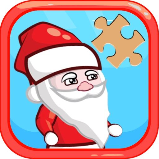 Merry Christmas Jigsaw Puzzles Game free for Kids iOS App