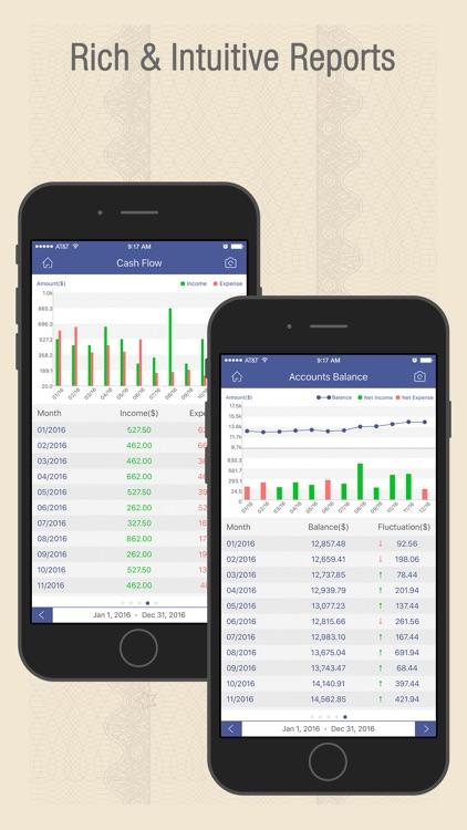 Checkbook Wiz - Track Expense, Income & Cash flow screenshot-3