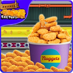 Chicken Nuggets Factory – Frying & cooking game