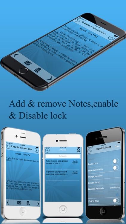 Notes Locker Notepad Notes