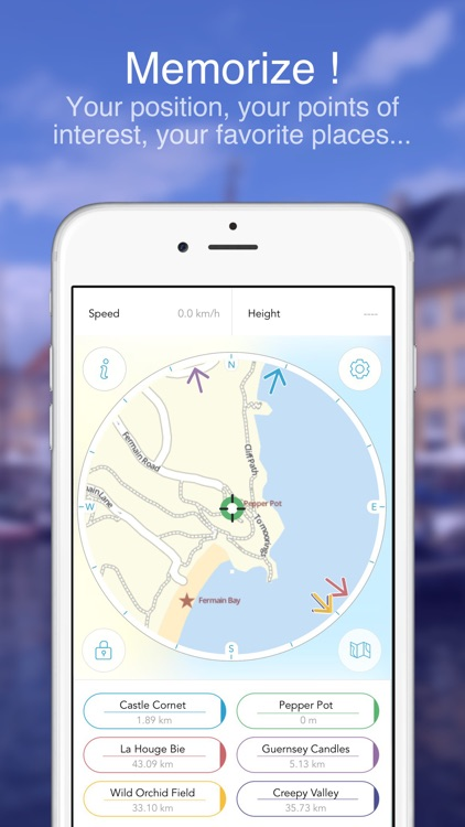 Jersey and Guernsey : Offline Map