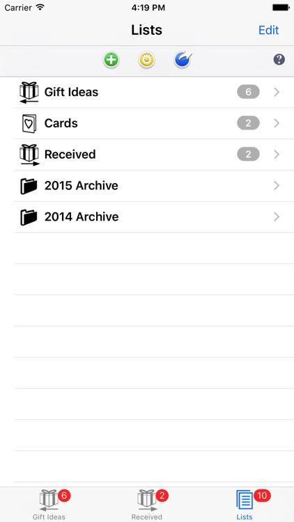 Gift List Budget Shopper screenshot-3