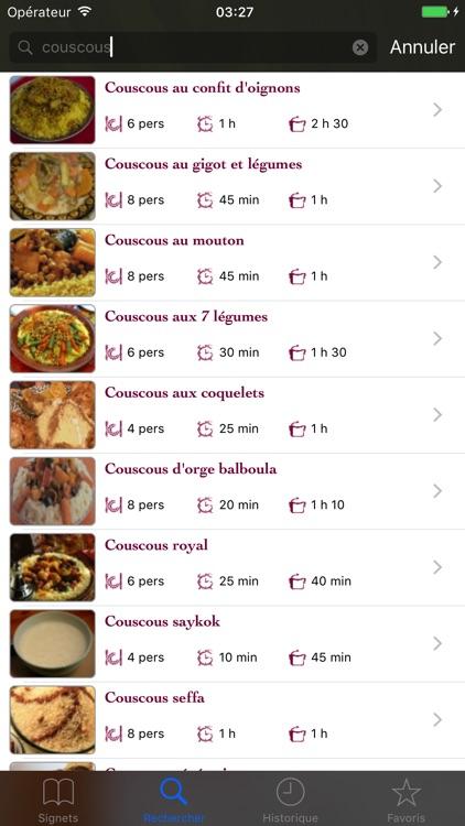 Saveurs du Maroc screenshot-4