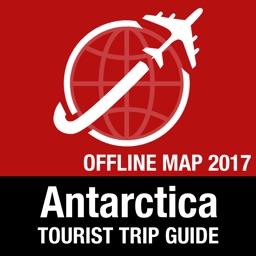 Antarctica Tourist Guide + Offline Map