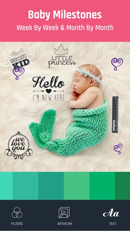 Baby Photo - Edit Pregnancy & Baby Milestones Pics screenshot-2